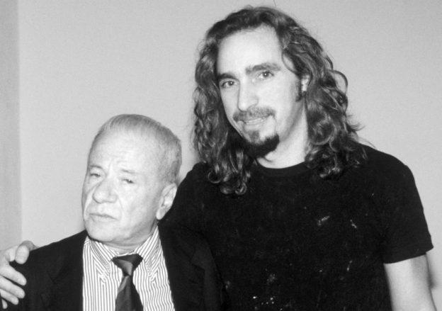 Giordano Macellari and Achille Bonito Oliva
