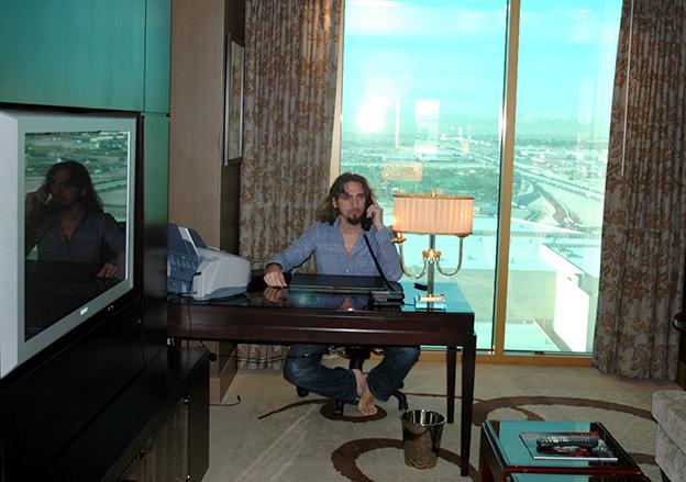 Giordano Macellari in Las Vegas