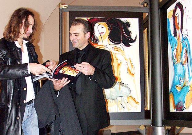 Giordano Macellari - Biennale Reggia di Caserta 2004