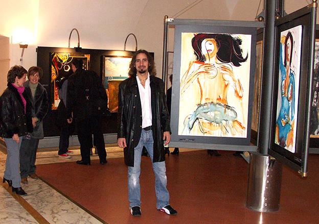 Giordano Macellari - exhibition Reggia di Caserta