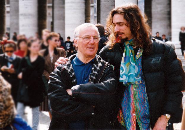 Giordano Macellari and Sandro Trotti in Rome