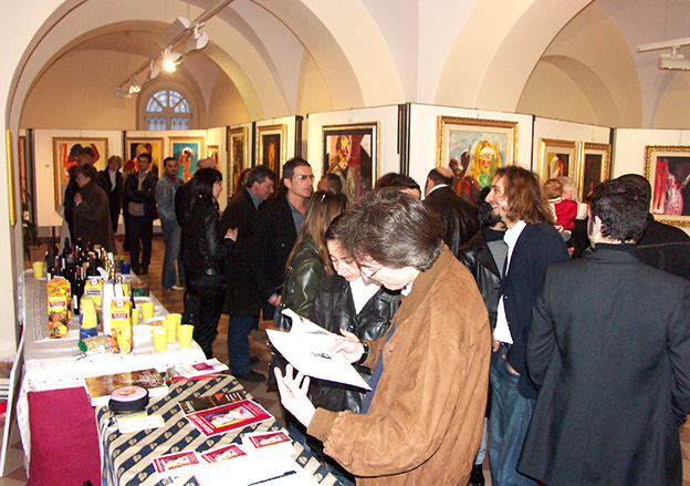 Giordano Macellari - solo exhibition in Civitanova Marche 2004