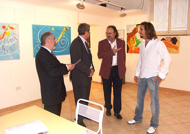 Giordano Macellari - solo exhibition Piombino