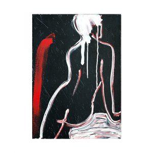 Giordano Macellari - Black Nude
